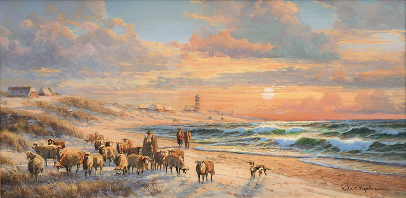 Shepherd on Sylt