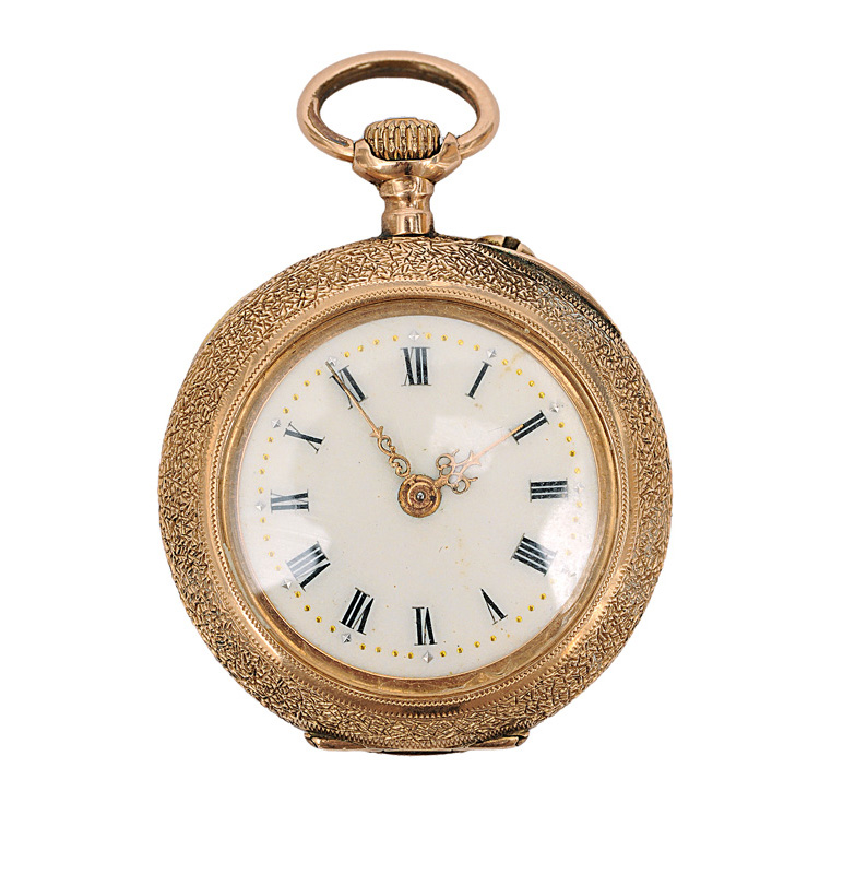 A small ladies pocket watch