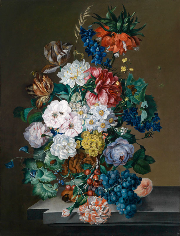 Companion Pieces: Still Lifes with Flowers