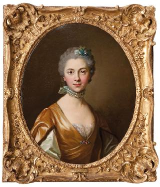 Portrait of a Lady with a Pearl Necklace