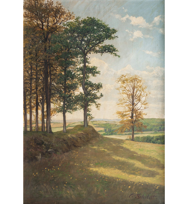Companion Pieces: Holstein Landscapes