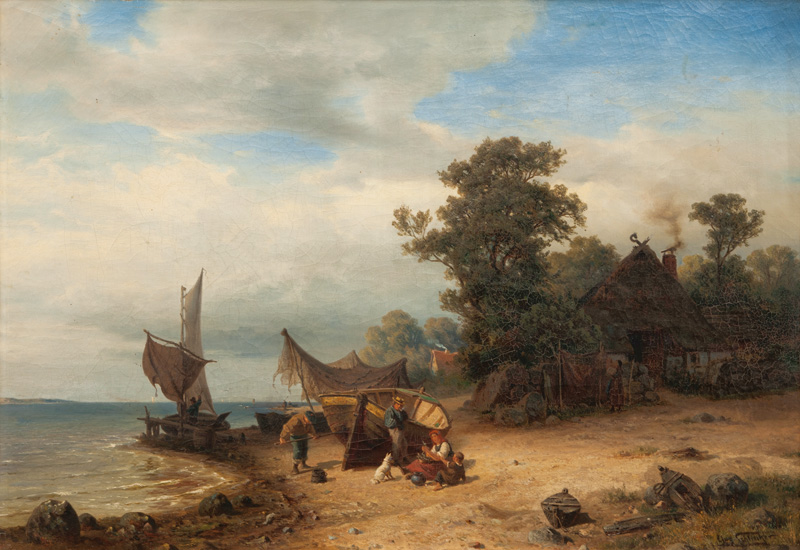 Village by the Baltic Sea