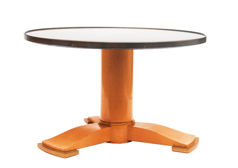 An Art Deco occasional table