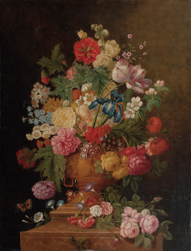 Flowers in a Vase
