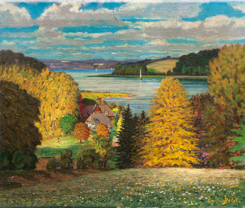 Landscape with Kellersee