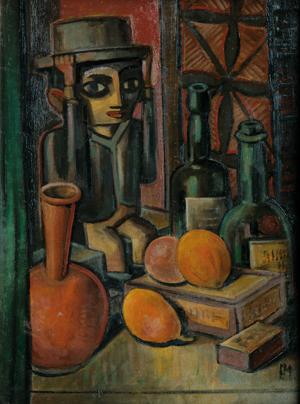 Still Life with Figurine