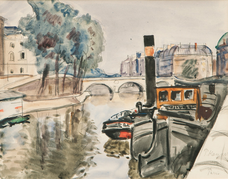 Paris, by the Seine