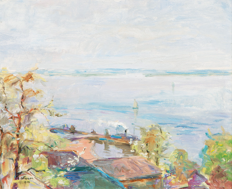 Spring in Blankenese on the Elbe