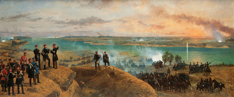 The Seizing of the Island Alsen in the Second Schleswig War