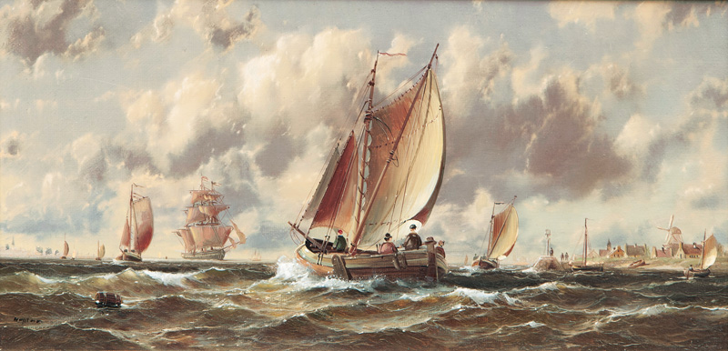 Ships on the North Sea