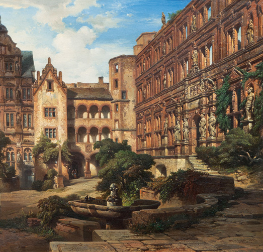 The Heidelberg Castle, The Ottheinrich Wing