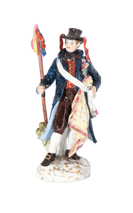 A costume figure 'The Wendish mariage announcer'