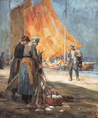 Fishermen on Sylt