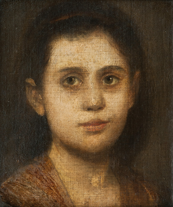 Portrait of the Daughter of Arnold Böcklin