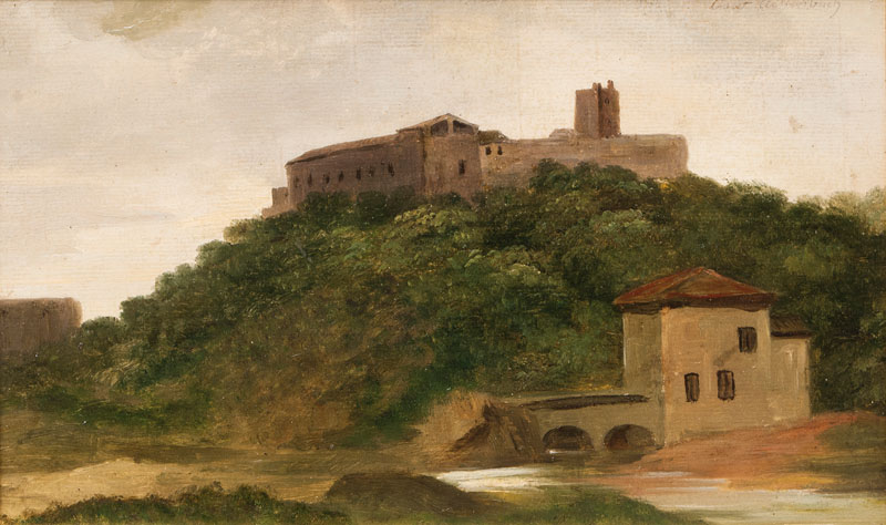 Italian Landscape with Castle
