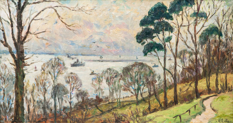 View on the Elbe