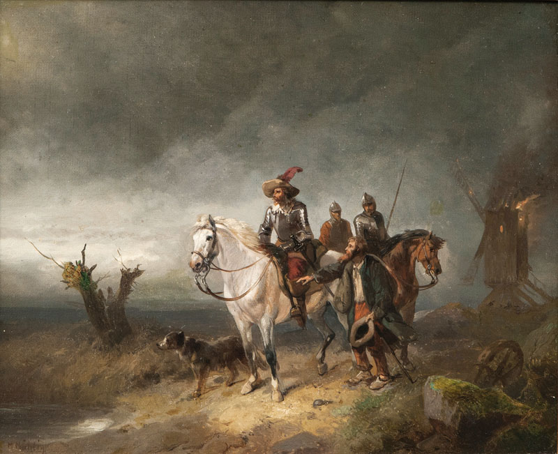 Spies on Horseback in the Thirty Years' War
