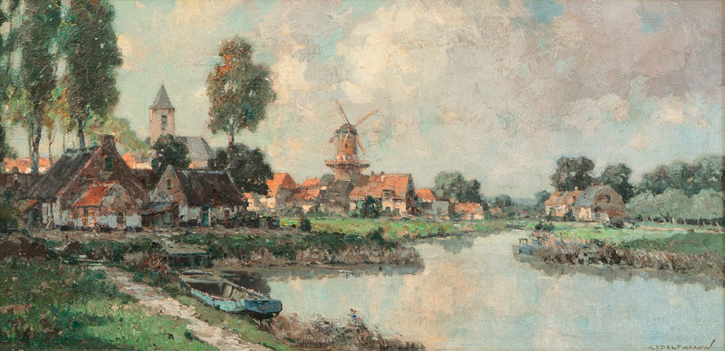 Rural Idyl by a River