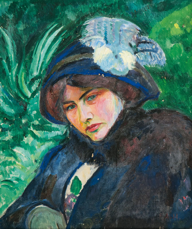 Portrait of a Lady with Hat