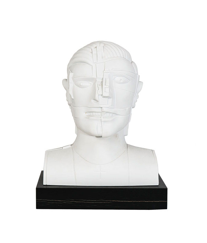 A sculptural bust 'Portrait of an actor'