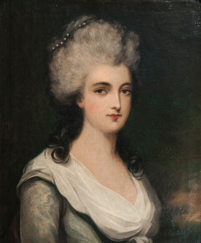 Portrait of a Rococo Lady