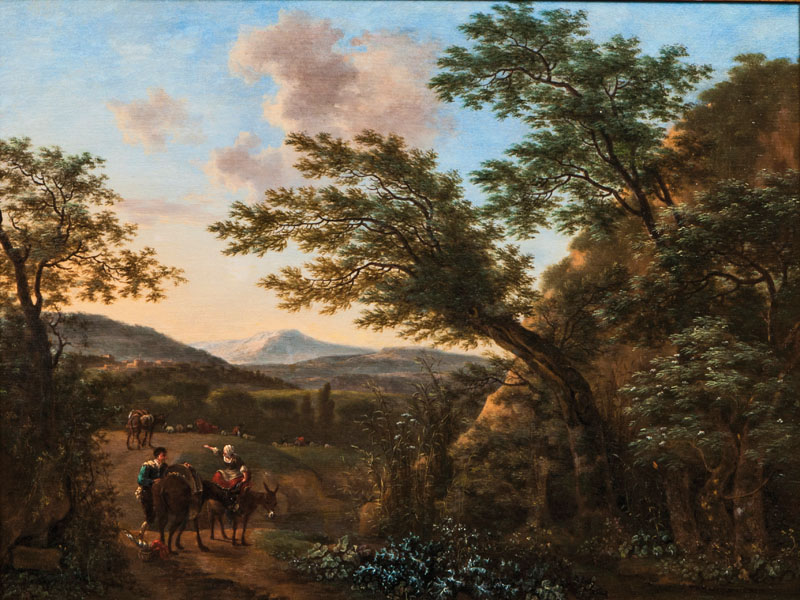 Southern Landscape with Travellers