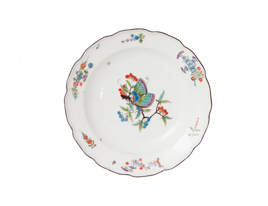 A plate 'Chinese butterfly'
