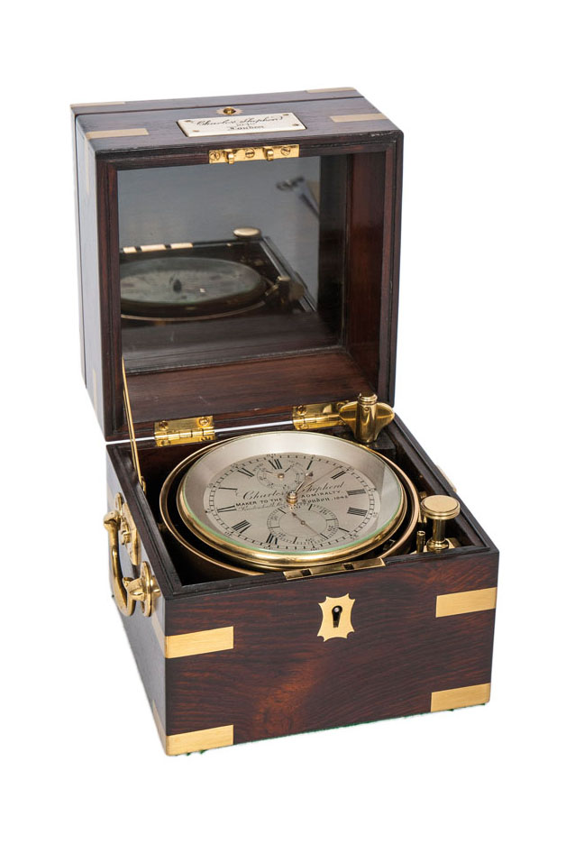 Victorianischer Two Day Marine-Chronometer
