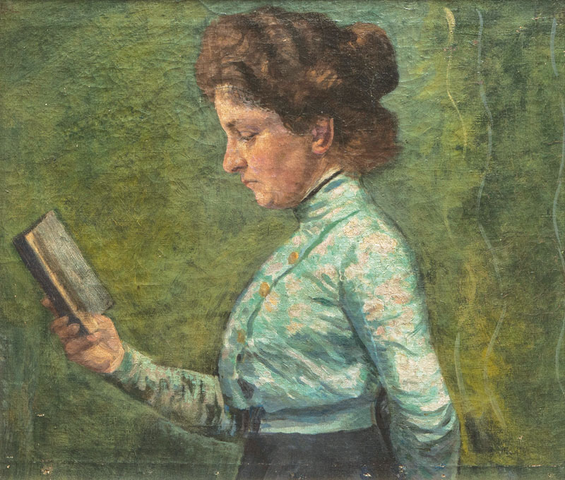 The Artist's Wife reading