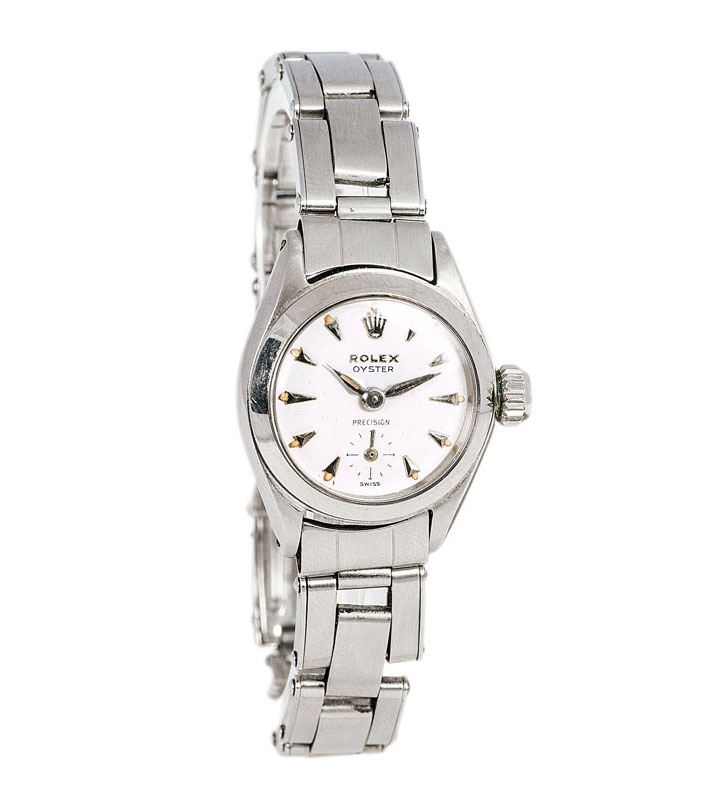 A lady's wrist watch 'Oyster Precision' by Rolex