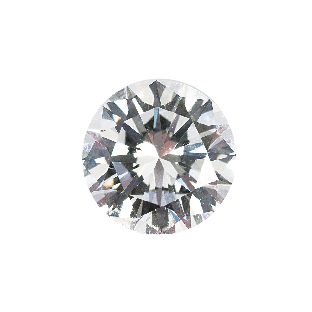 One loose diamond