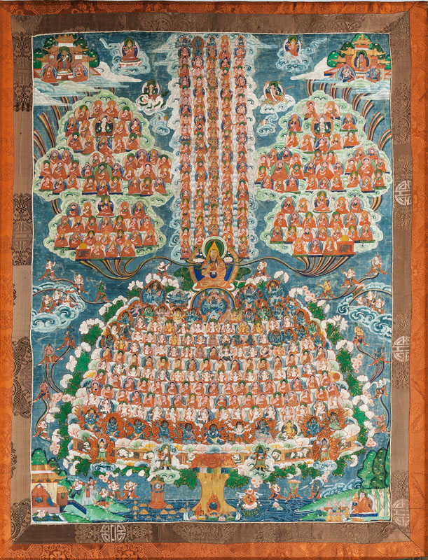 A thanka 'Buddhist Refugee Tree'
