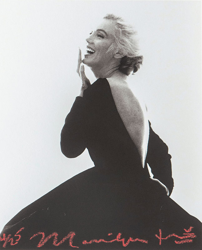 Marilyn in Black Dress