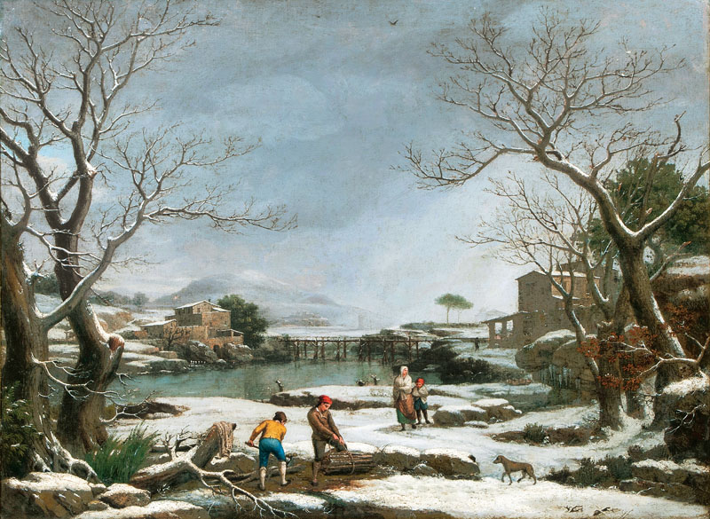 Winterlandscape with Faggot Gatherers