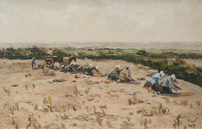 Harvesting Potatoes near Worpswede