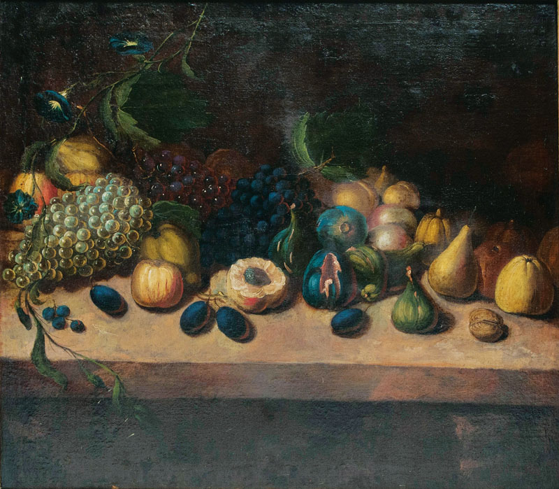 Companion Pieces: Table Still Life with Fruits
