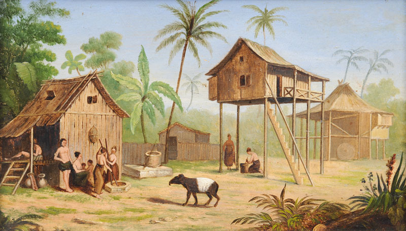 Companion Pieces: Javanese Landscapes