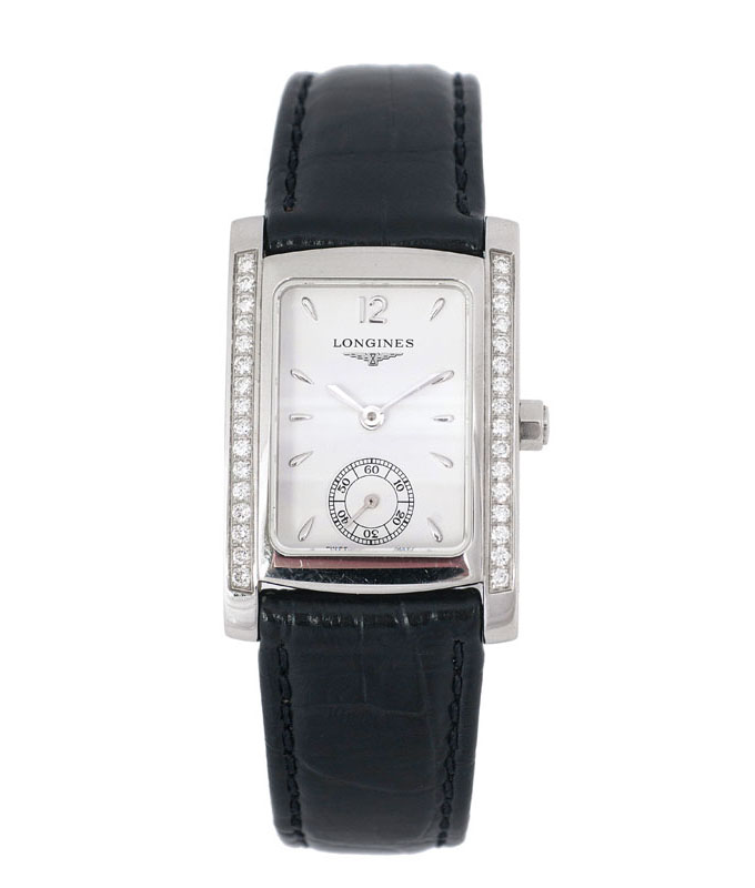A ladie's watch 'Dolce Vita' with diamonds by Longines
