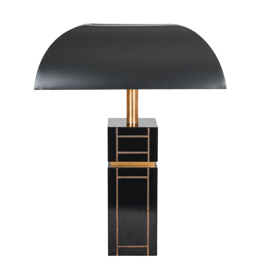 A Mid-Century table lamp