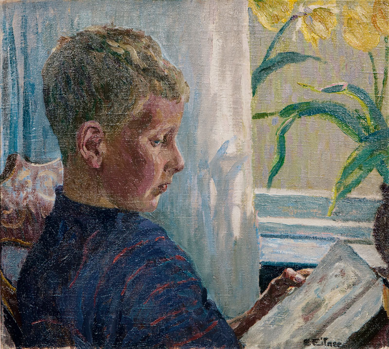 Georg, the Artist's Son