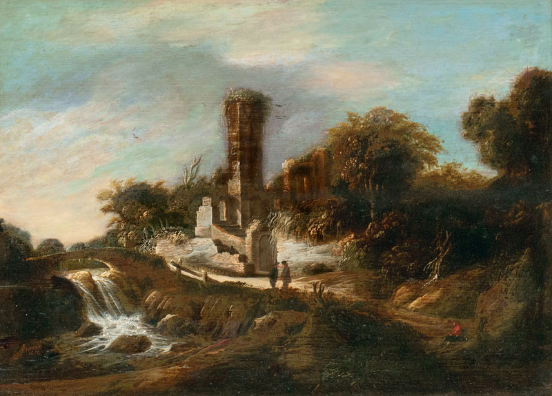 Landscape with River and Tower