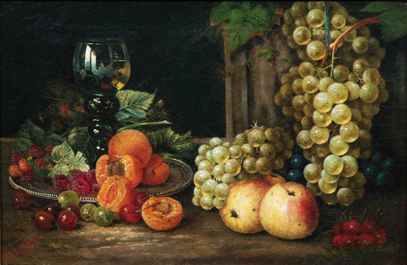 Still Life with Fruits and Rummer