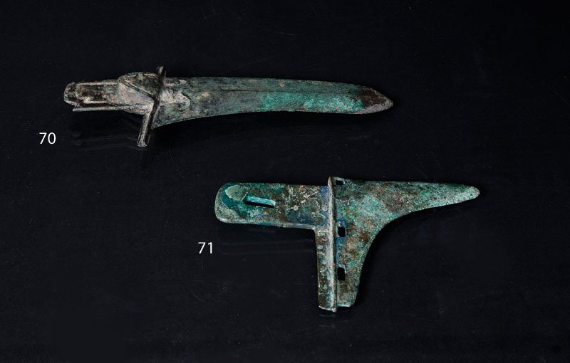 A short bronze weapon 'Ge'