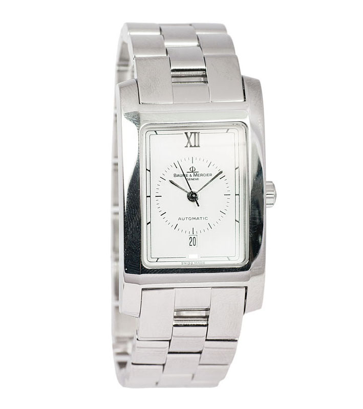 A gentlemen's wrist watch 'Hampton' by Baume & Mercier