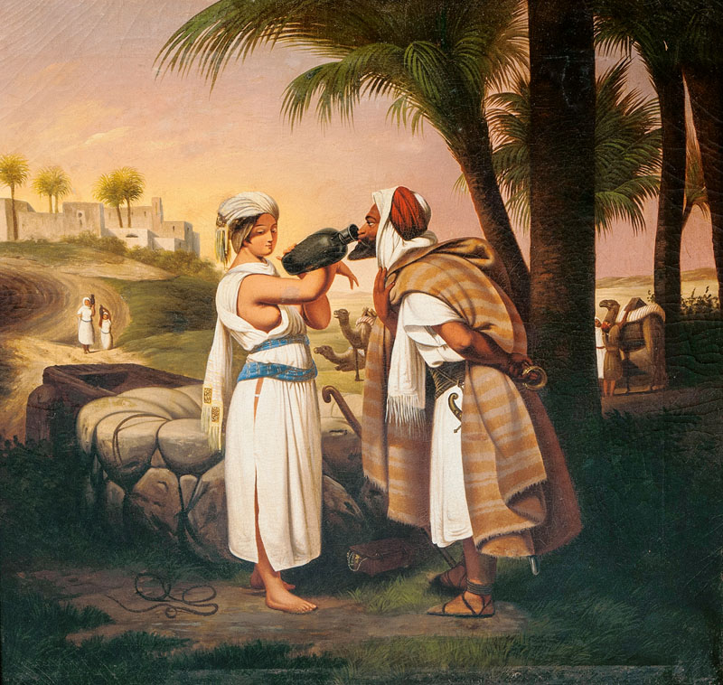 Eliezer and Rebecca by the Well
