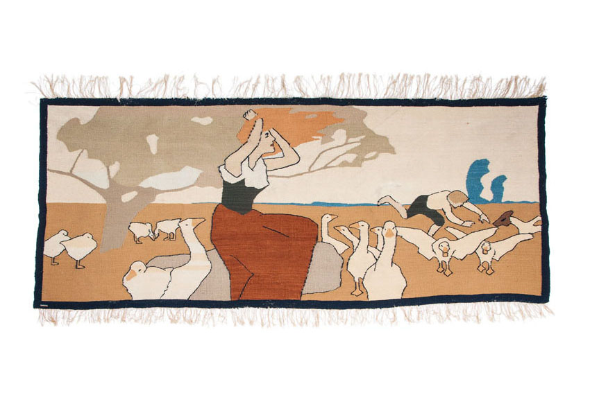 Scherrebek Wall Hanging - The Goose Girl