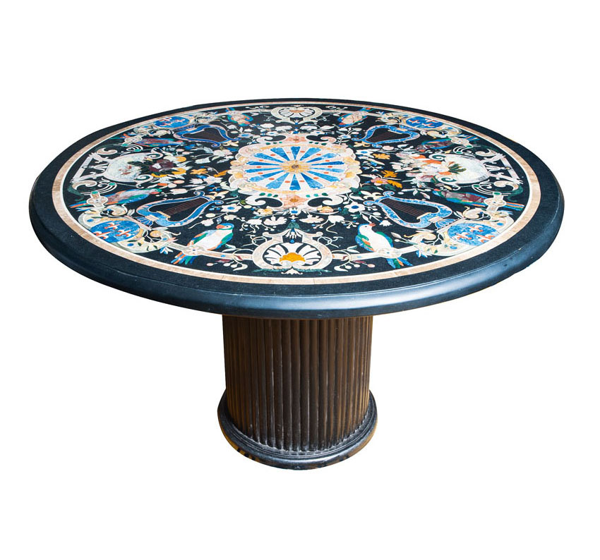 A pietra dura table in the 18th century Florentine style