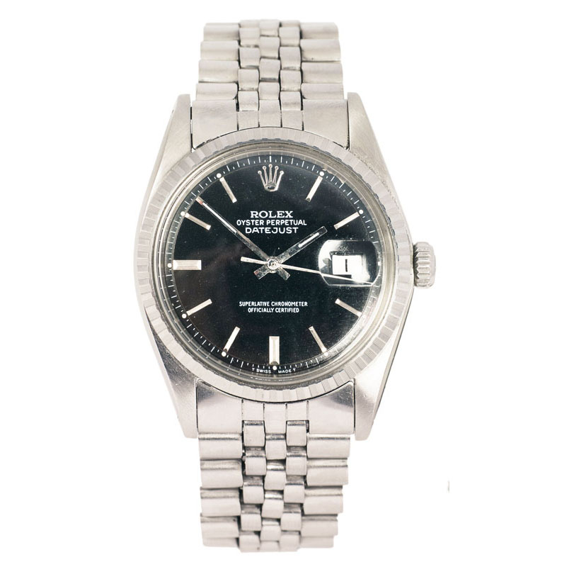 A gentlemen's wrist watch 'Oyster Perputal Datejust' by Rolex