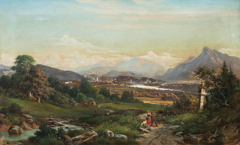 View on Salzburg