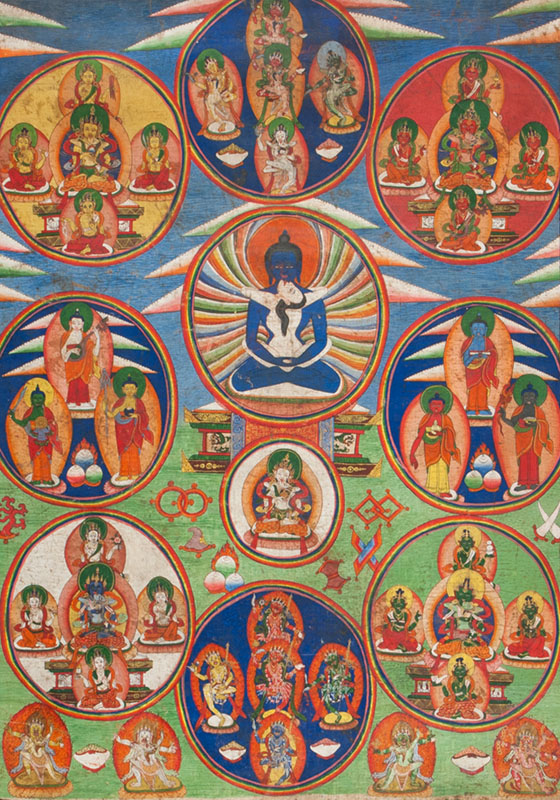 Thangka 'Samantabhadra'